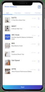 Mobile Measurements - tests